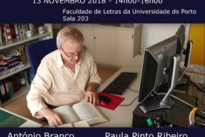 Workshop «Mercado da tradução: novos desafios, novas competências»