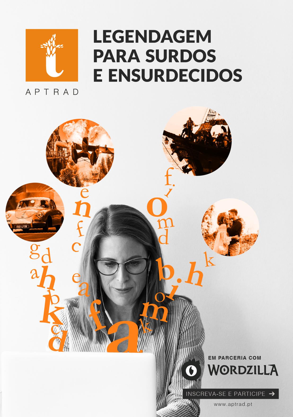 Formação de Legendagem para Surdos e Ensurdecidos - Tradaptação
