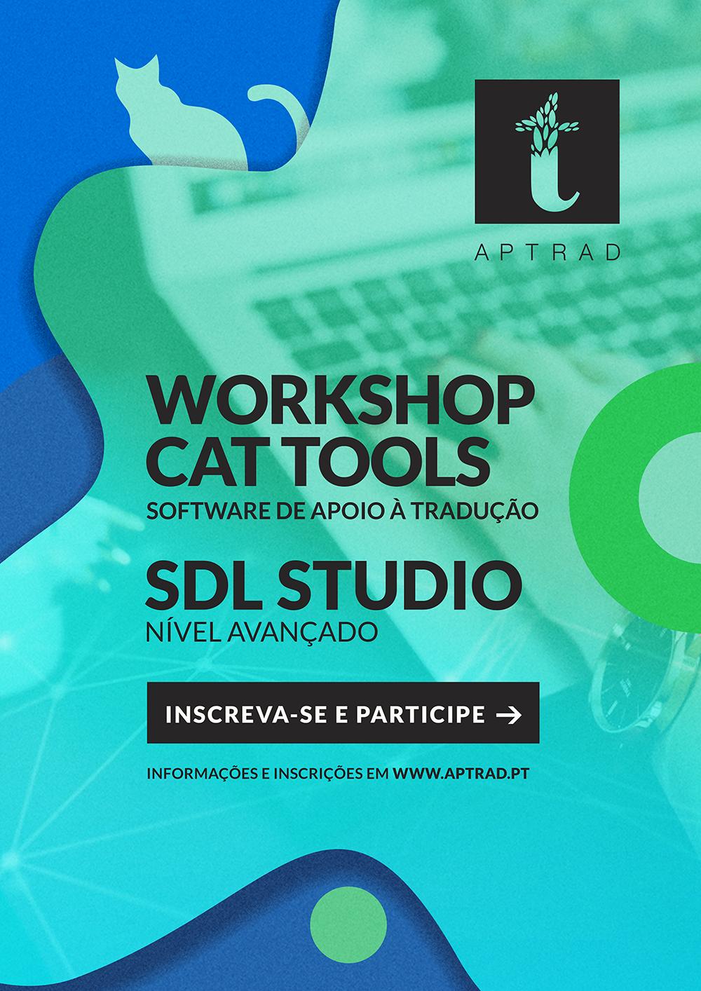 Workshop CAT Tools – SDL Studio [Nível Avançado]