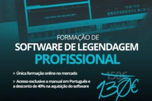 Formação do Software Profissional de Legendagem – Spot