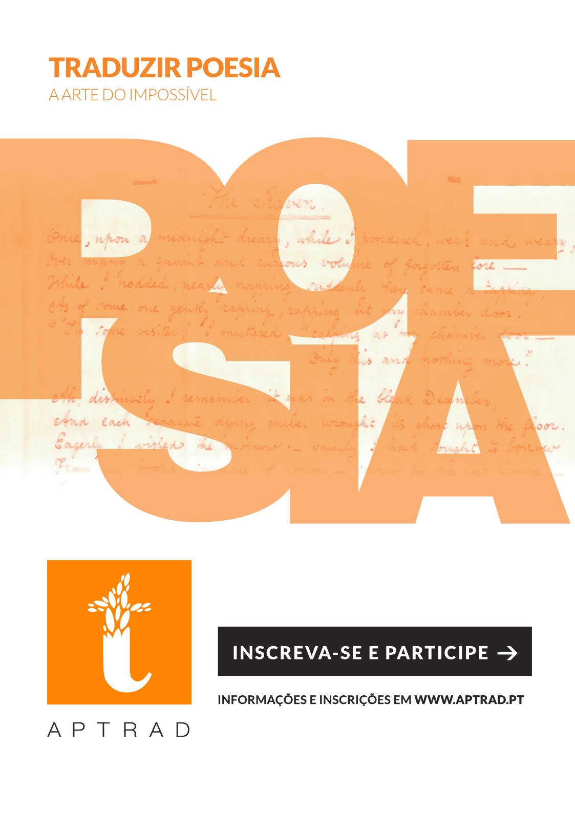 Traduzir poesia: a arte do impossível